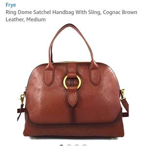 Ring done satchel handbag